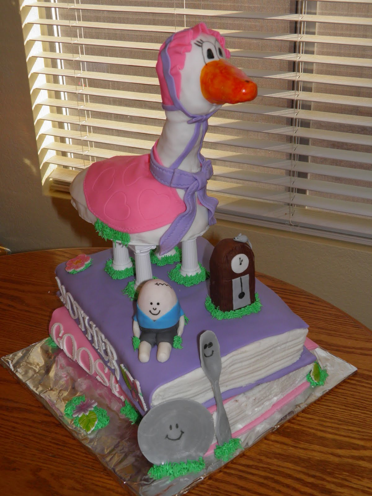 Katy S Kreative Cakes Mother Goose 1st Birthday Party