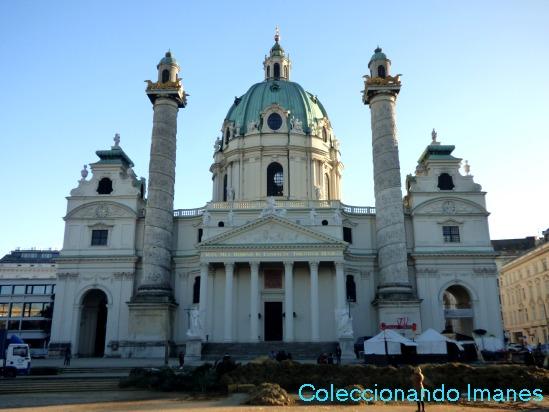 Karlskirche - visitar Viena en 3 días