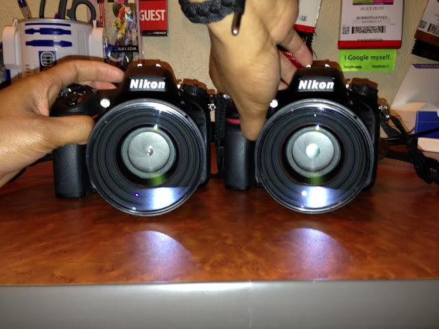 Due Nikon D600 a confronto