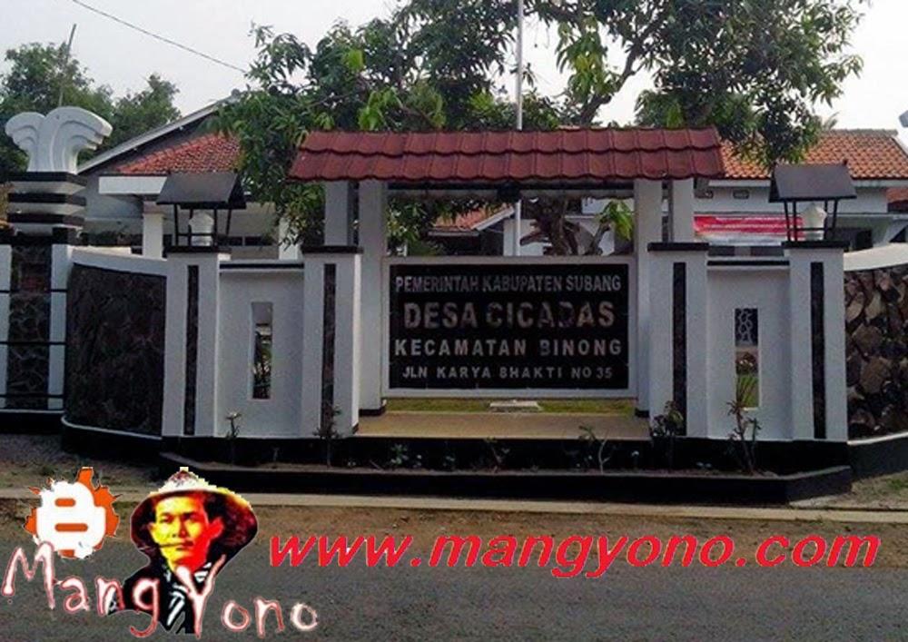 Desa Cicadas, Kecamatan Binong, Kabupaten Subang