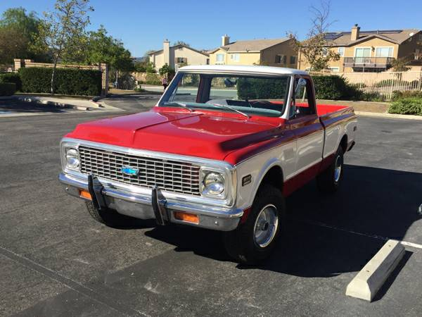 4x4 Truck 1972 Chevrolet Truck K10 4x4 Short Bed 4x4 Cars