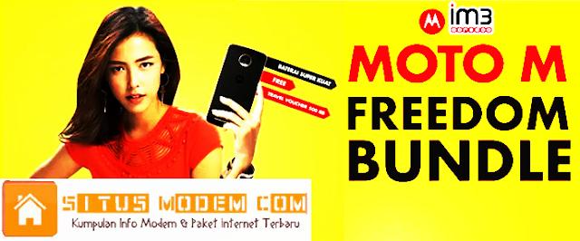 Ingin Beli Smartphone Moto M ? Ini Bonus Kuota 4G LTE  Paket  Bundling Moto M Indosat Ooredoo