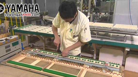 Lowongan Kerja PT  Yamaha Indonesia (Mfg Piano) Pulogadung