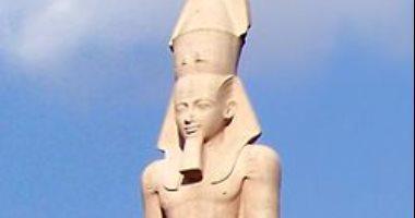 دلائل على وجود معبد رمسيس الثاني بالمطرية