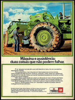 propaganda Terex - GM - 1977; GM; General Motors; brazilian cars; reclame de carros anos 70. brazilian advertising cars in the 70. os anos 70. história da década de 70; Brazil in the 70s; propaganda carros anos 70; Oswaldo Hernandez;
