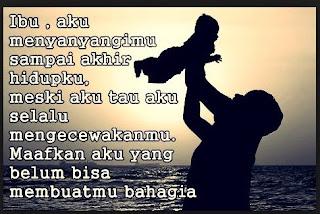 Kata Kata Rindu Kasih Sayang Ibu Tercinta