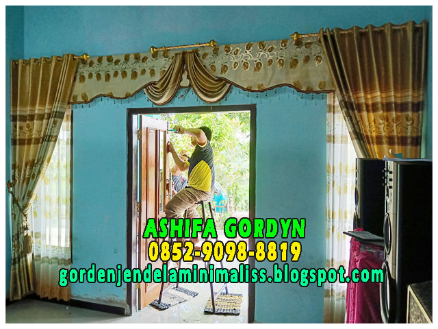 gorden minimalis 2019 Model Gorden Pintu Kupu Tarung Terbaru Model