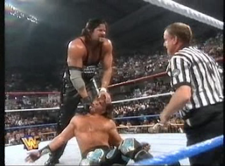 WWF / WWE - IN YOUR HOUSE 7 - GOOD FRIENDS BETTER ENEMIES - Diesel destroyed former friend Shawn Michaels in their No Holds Barred match for the WWF title