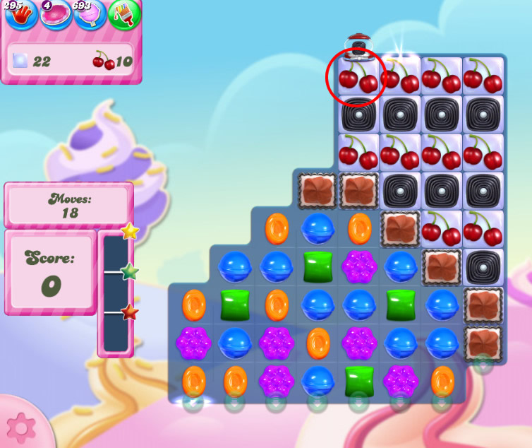 Candy Crush Saga level 2831