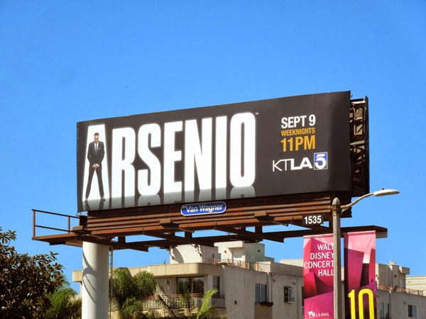 Arsenio talk show series premiere billboard