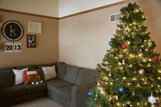 Cozy Holiday Home Tour, Christmas Tree