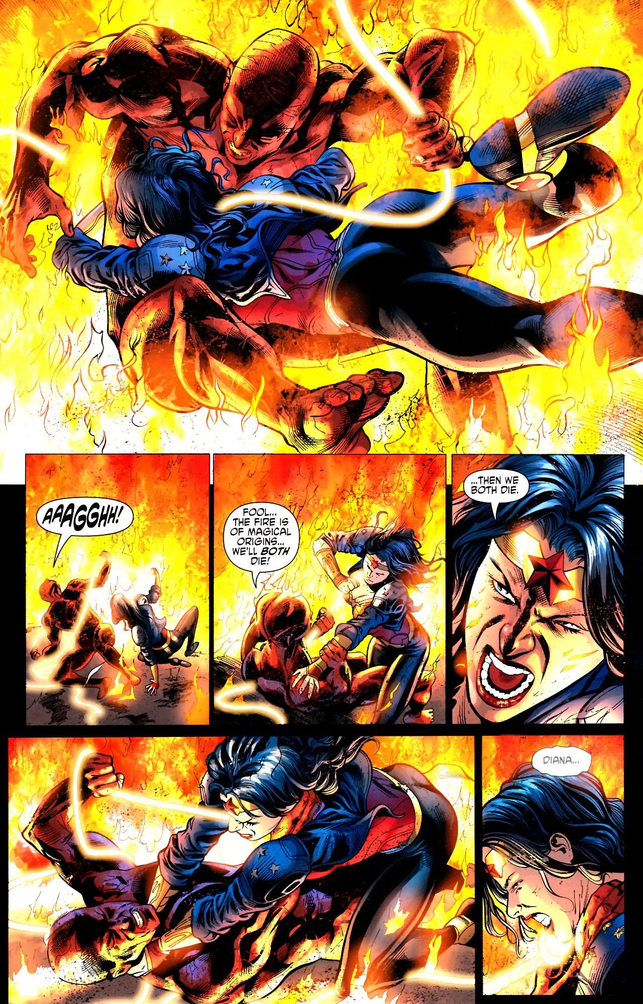 Read online Wonder Woman (2006) comic -  Issue #604 - 12