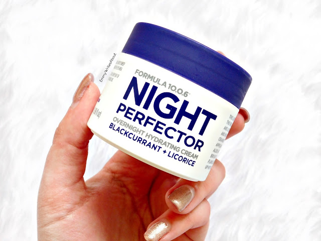Night Perfector Overnight Hydrating Cream Review