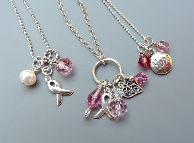 Birdy Chat Breast Cancer Awareness Jewelry