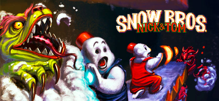 Snow Bros (Toaplan, 1990)