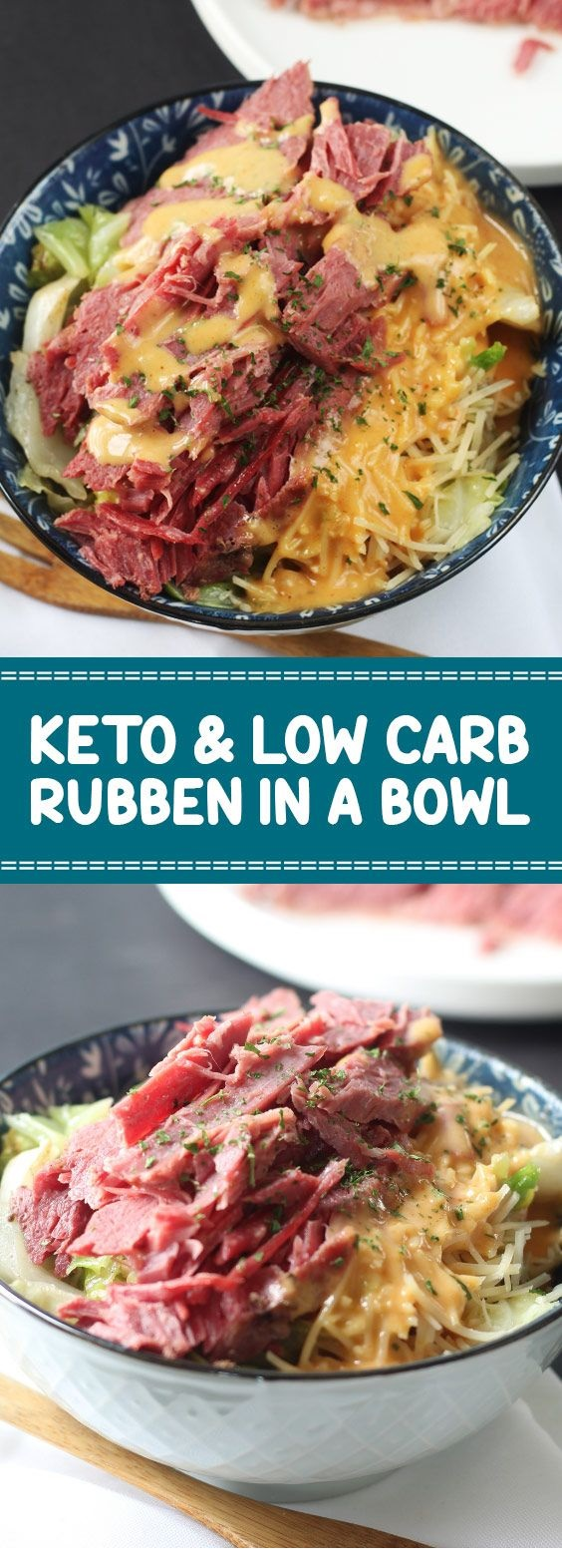 Keto & Low Carb Ruben In A Bowl