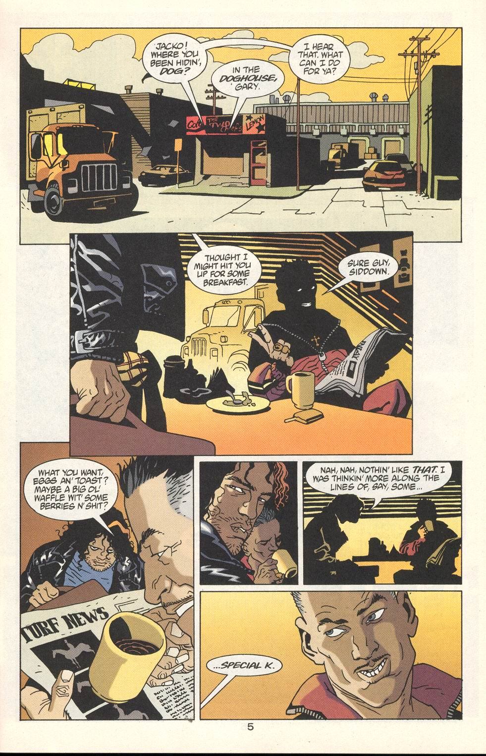 Read online 100 Bullets comic -  Issue #22 - 6