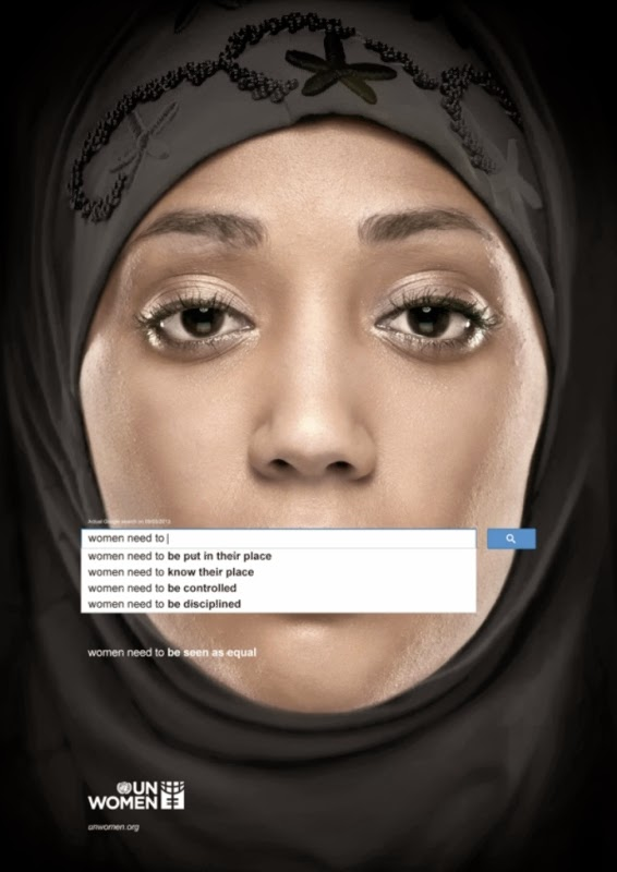 United Nations' Powerful Ad Campaign About Women Search Engine
