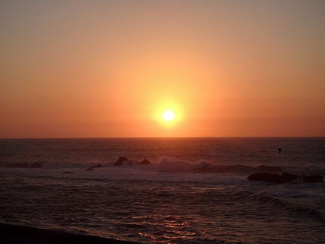 Sunset in Essaouira, Morocco