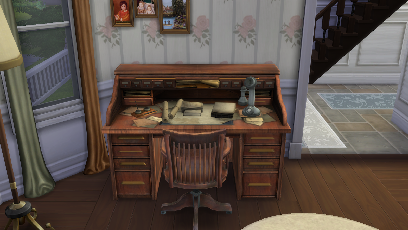 My Sims 4 Blog Bioshock Infinite Office Conversion By Rose