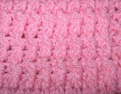Punto crochet elástico simple