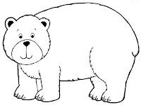 דפי צביעה דובים