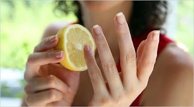 Limón para las manos