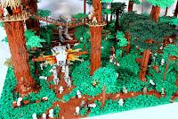 Lego Star Wars dioramas: Battle of Endor