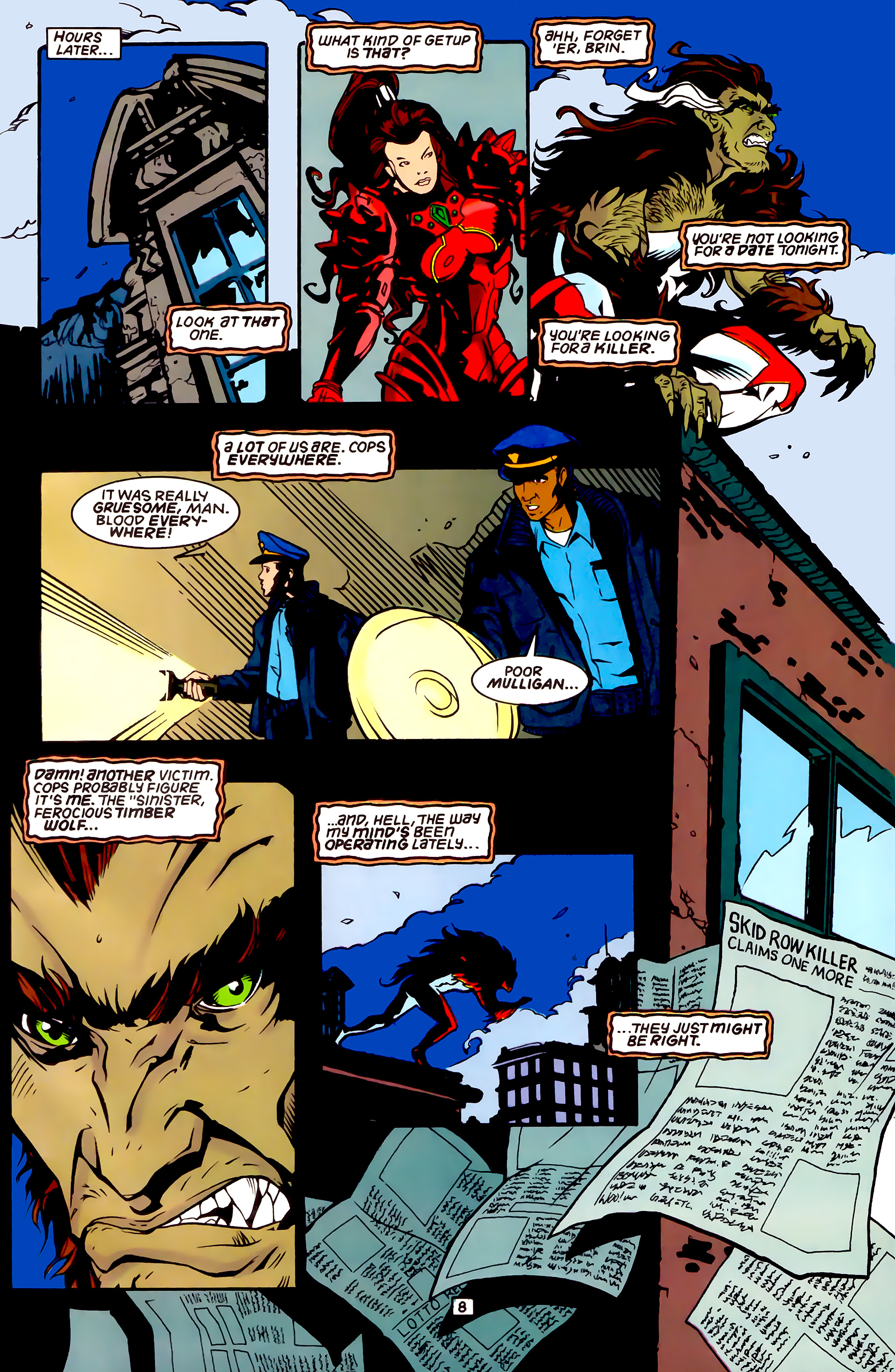 Legion of Super-Heroes (1989) _Annual_4 Page 8