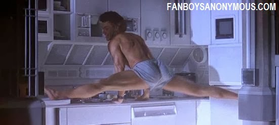 Jean Claude Van Damme Split in Timecop screen shots