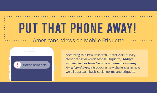 American's Views on Mobile Etiquette