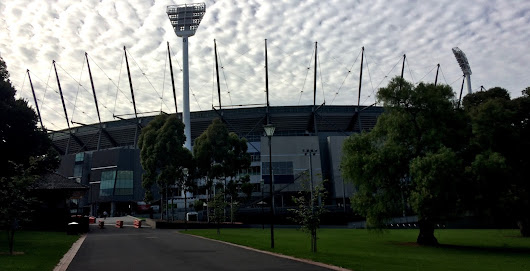Visiting the iconic MCG!