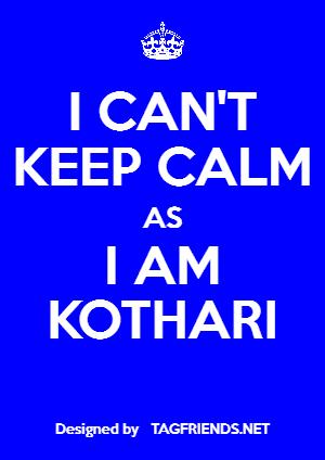 Kothari Lat Names