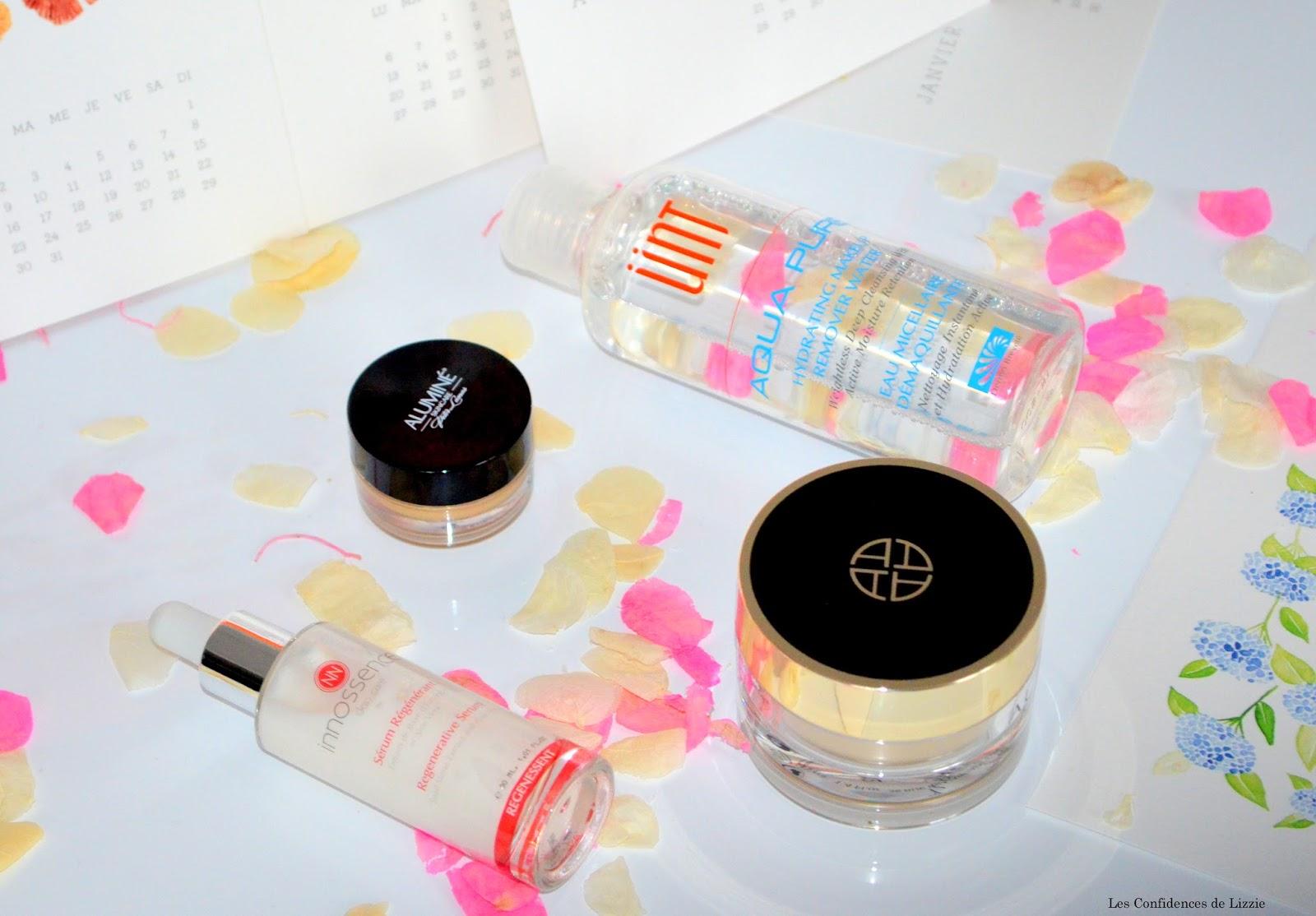 trentenaire - routeine beauté - produits de beaute - cosmetiques anti age -  eau micellaire - contour des yeux lissant - creme de nuit - serum