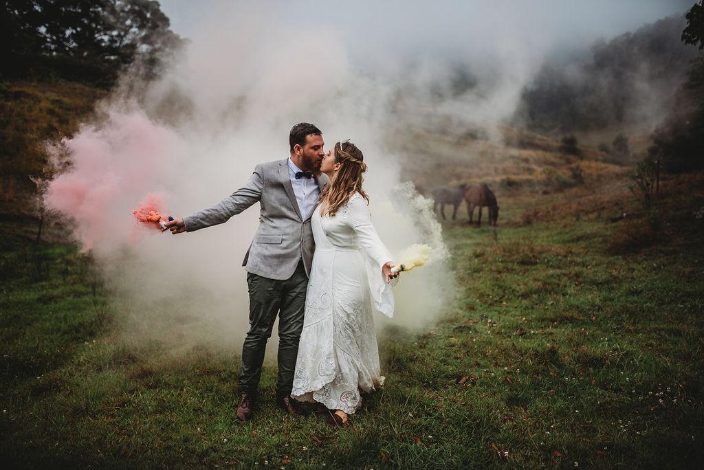 LOVE: INGRID & CHRIS | BOHEMIAN WEDDING IN THE MOUNTAINS MT PLEASANT