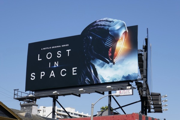 Lost in Space Robot special extension billboard