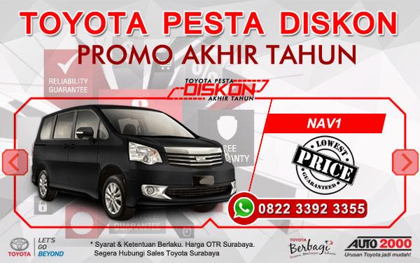 Promo Akhir Tahun Toyota NAV1 Surabaya
