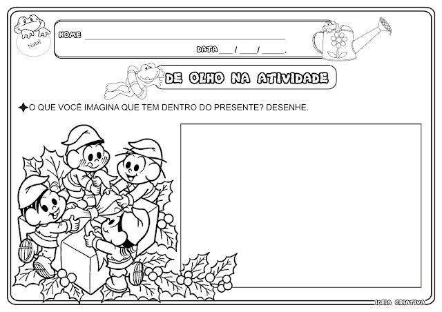 Atividade Natalina Educação Infantil