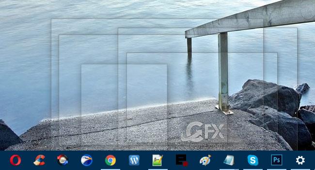 Windows 10'da Masa Üstü Ön izleme Nasıl Aktif Edilir