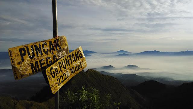 pendakian gunung puntang