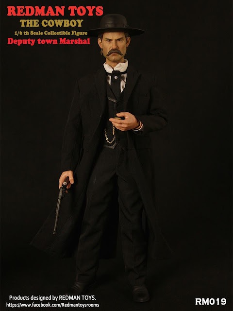 osw.zone REDMAN TOYS 1/6 scale Deputy Town Marshal COWBOY 12-inch collector's figure