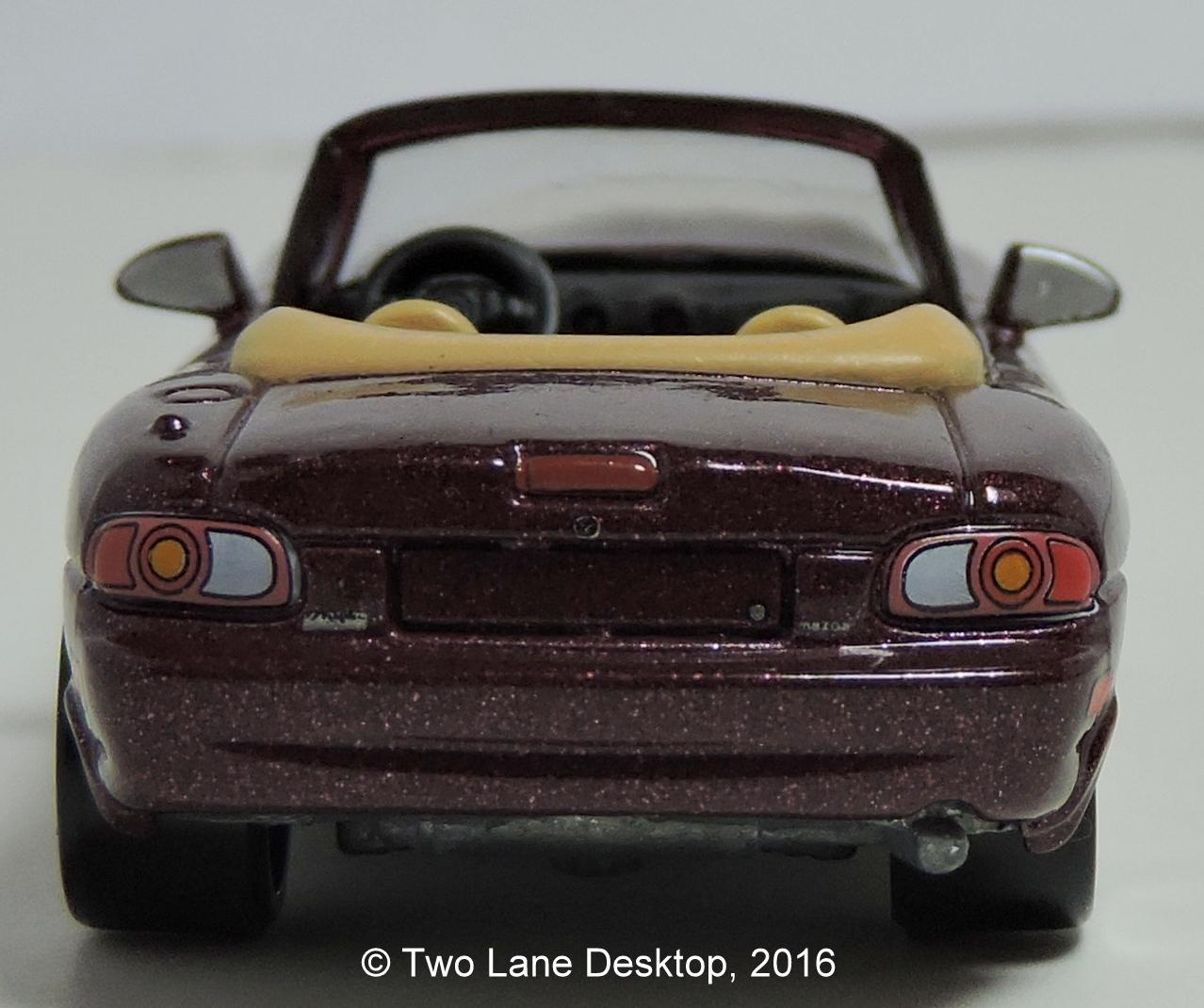 Two Lane Desktop: Hot Wheels 2015 Mazda MX-5 Miata, 1990