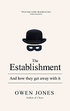 The Establishment by Owen Jones book cover