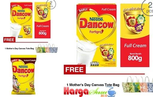 harga susu Dancow Fortigro