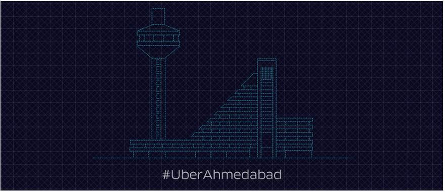 50% OFF ON ALL UBERX RIDES THIS SUNDAY with Uber Ahmedabad