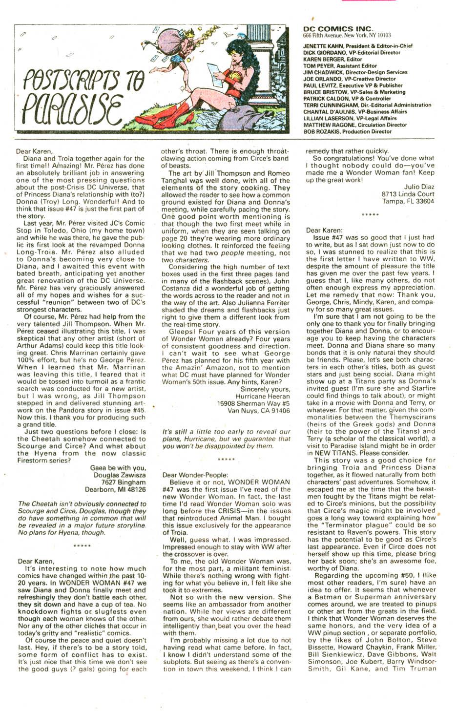 Read online Wonder Woman (1987) comic -  Issue #51 - 25
