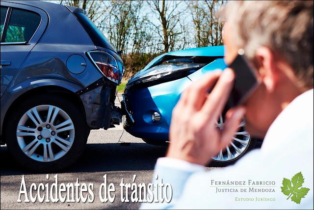Accidentes de tránsito en Mendoza, que hacer?