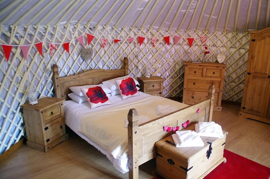 Glamping Yurt Cornwall