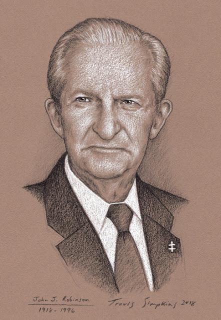 John J. Robinson, 33°. Freemason and Author. Born in Blood. by Travis Simpkins