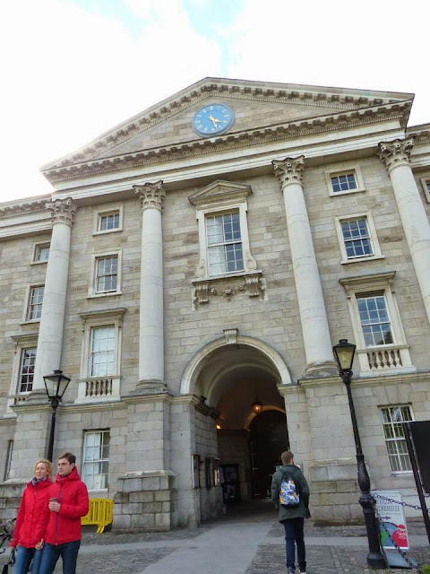 visite de Trinity College à Dublin